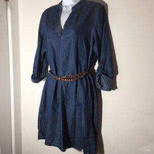 "Jean Dress Long sleeves M"""